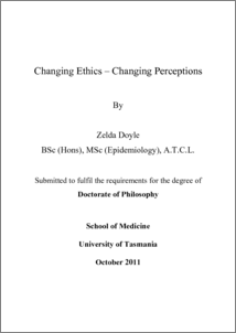 Doctoral dissertation assistance ethics