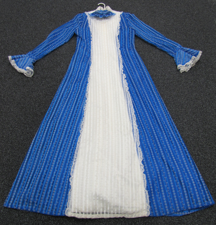 UTas ePrints Photographs of blue wedding dress
