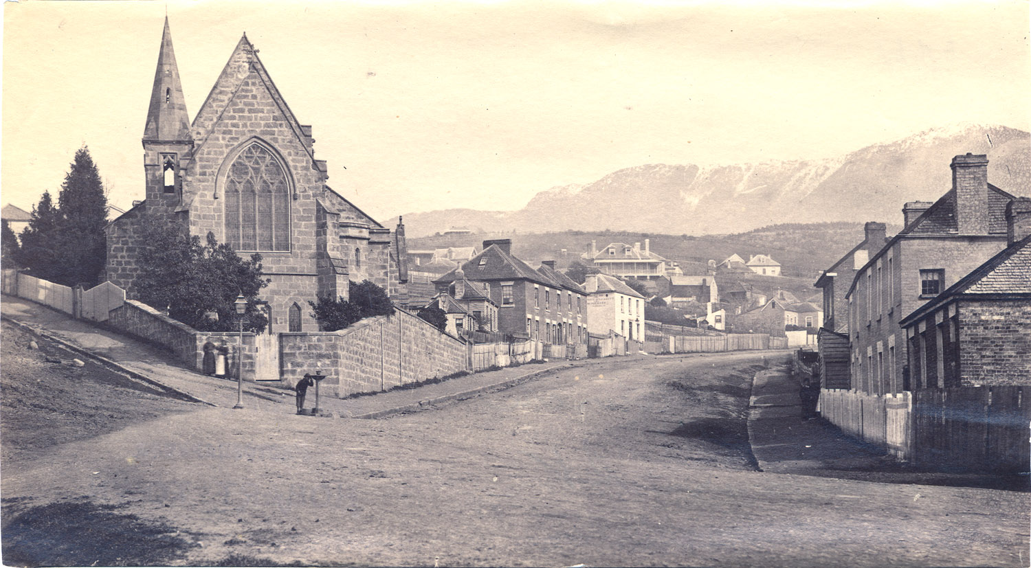 Photograph Of St John S Church Goulburn St Hobart