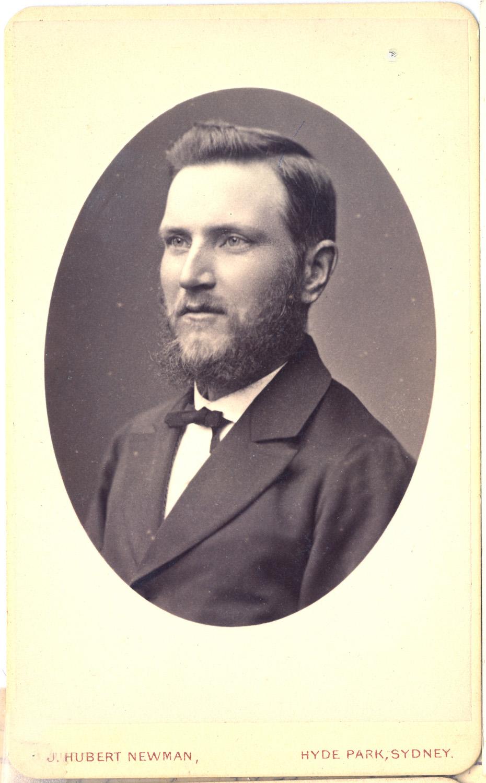 Photograph of John Ridley Walker, Tasmania 1848-1915