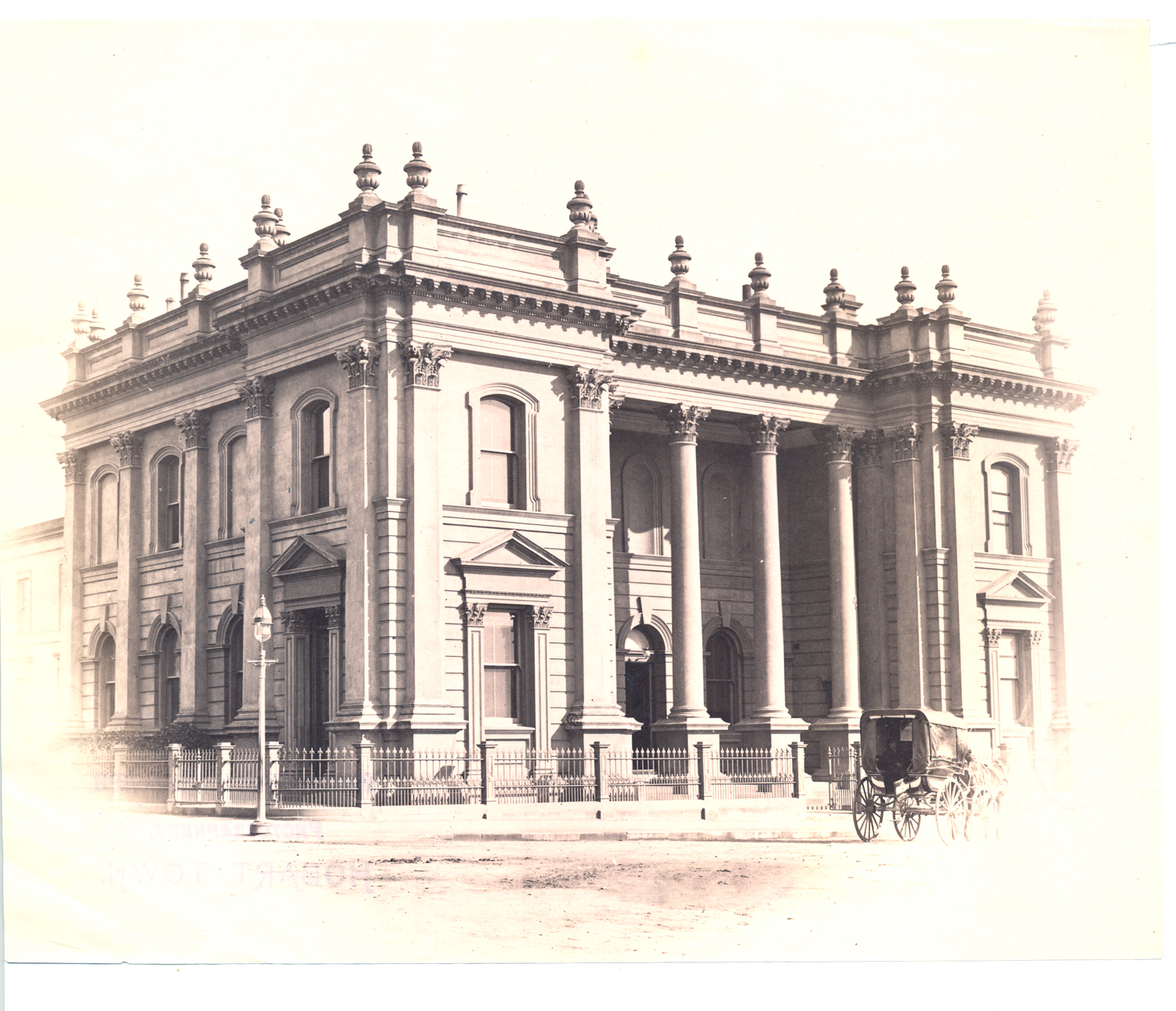 Photograph Of The Town Hall Launceston Tasmania Open