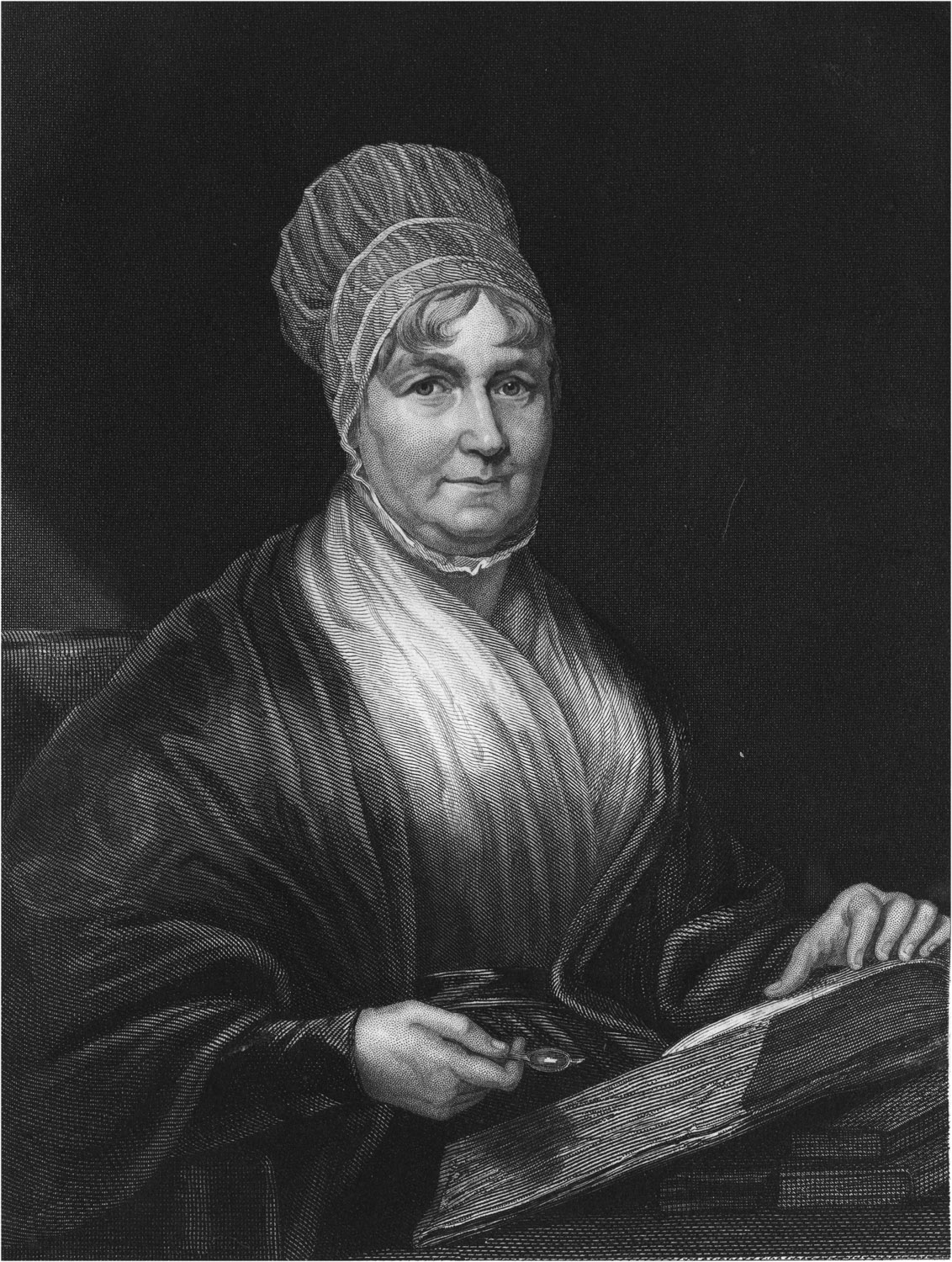 Letter from Jane Franklin in Van Diemen's Land 1841 to Elizabeth Fry in England, and her reply, 1842