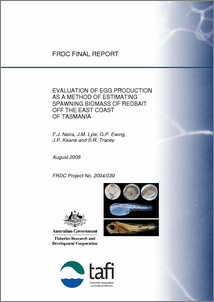 Evaluation of egg production as a method of estimating spawning